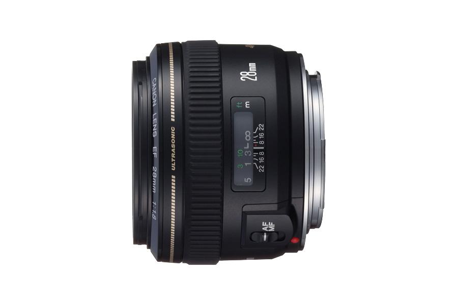 佳能(中国)-ef镜头 - 广角定焦镜头 - ef 28mm f/1.8