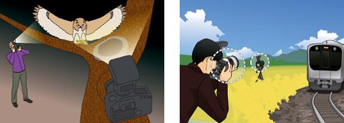 联动拍摄可以一起释放多台相机的快门