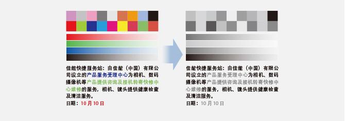 应用单色输出显现完善的突变性