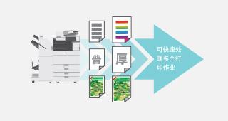 """""""高效打印"""":满足多种多样的需求"""