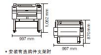 iPF681外形尺寸图