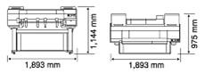 iPF6460外形尺寸图