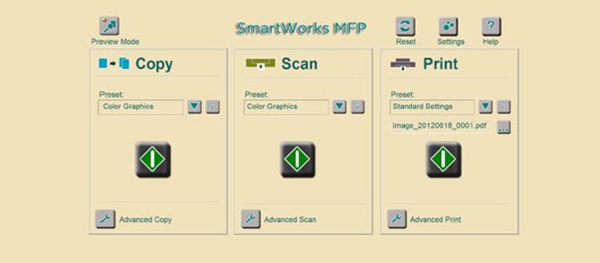 SmartWorks MFP 3.0版智能软件平台