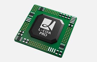 全新引擎高速處理-高性能L-COA PRO 芯片
