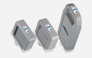 人性化供墨設計-各種容量墨盒可以混合搭配