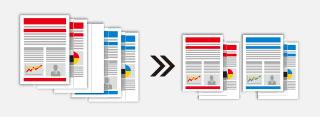 空白页可以作为批次分离器,对文件进行分离归类